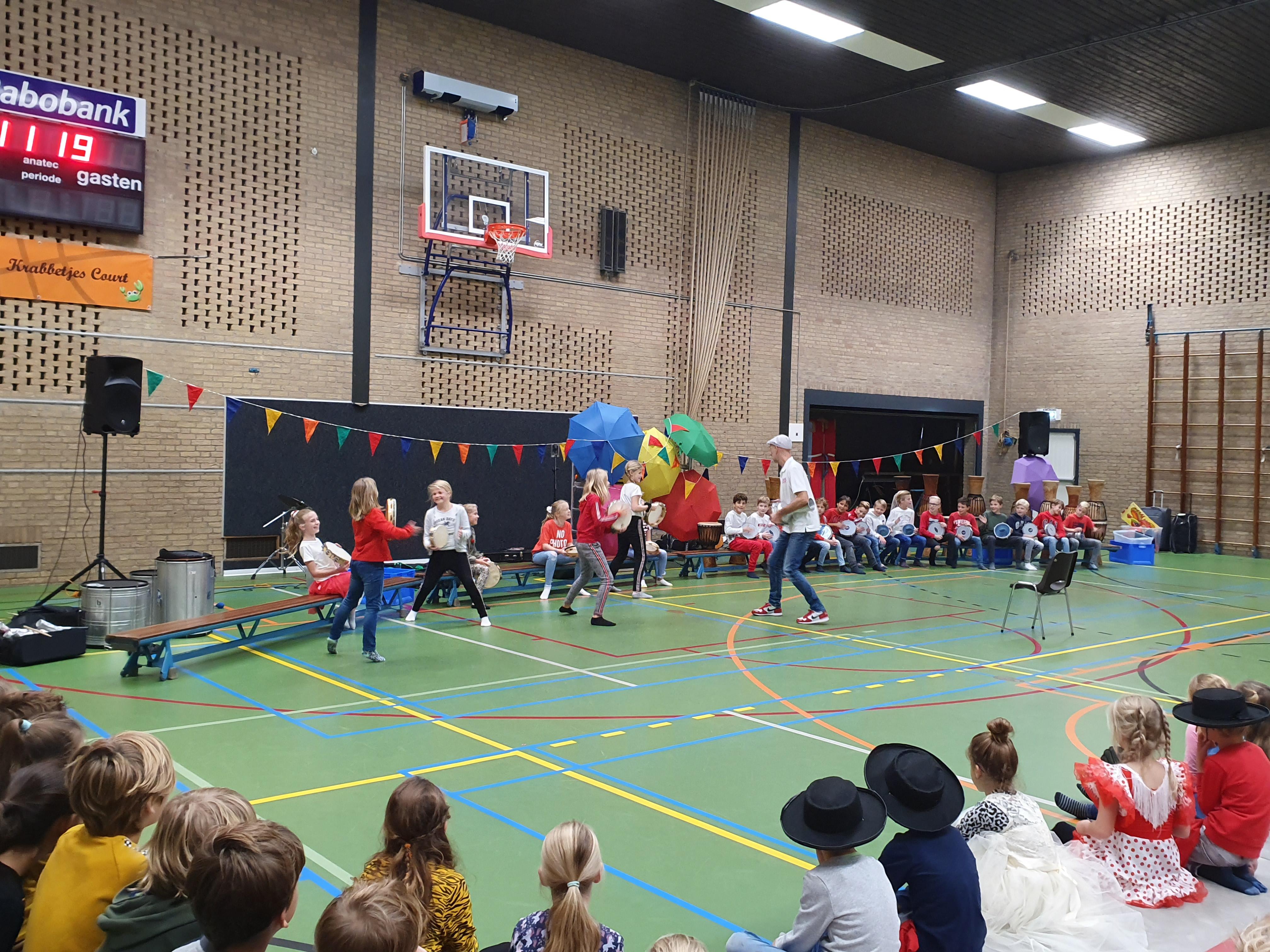 Landenproject Theresia school