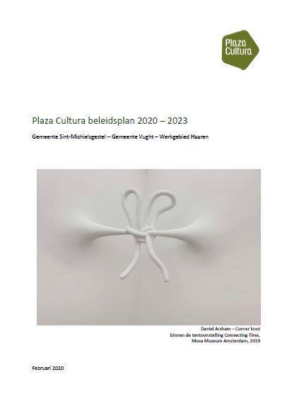 Cover beleidsplan Plaza Cultura