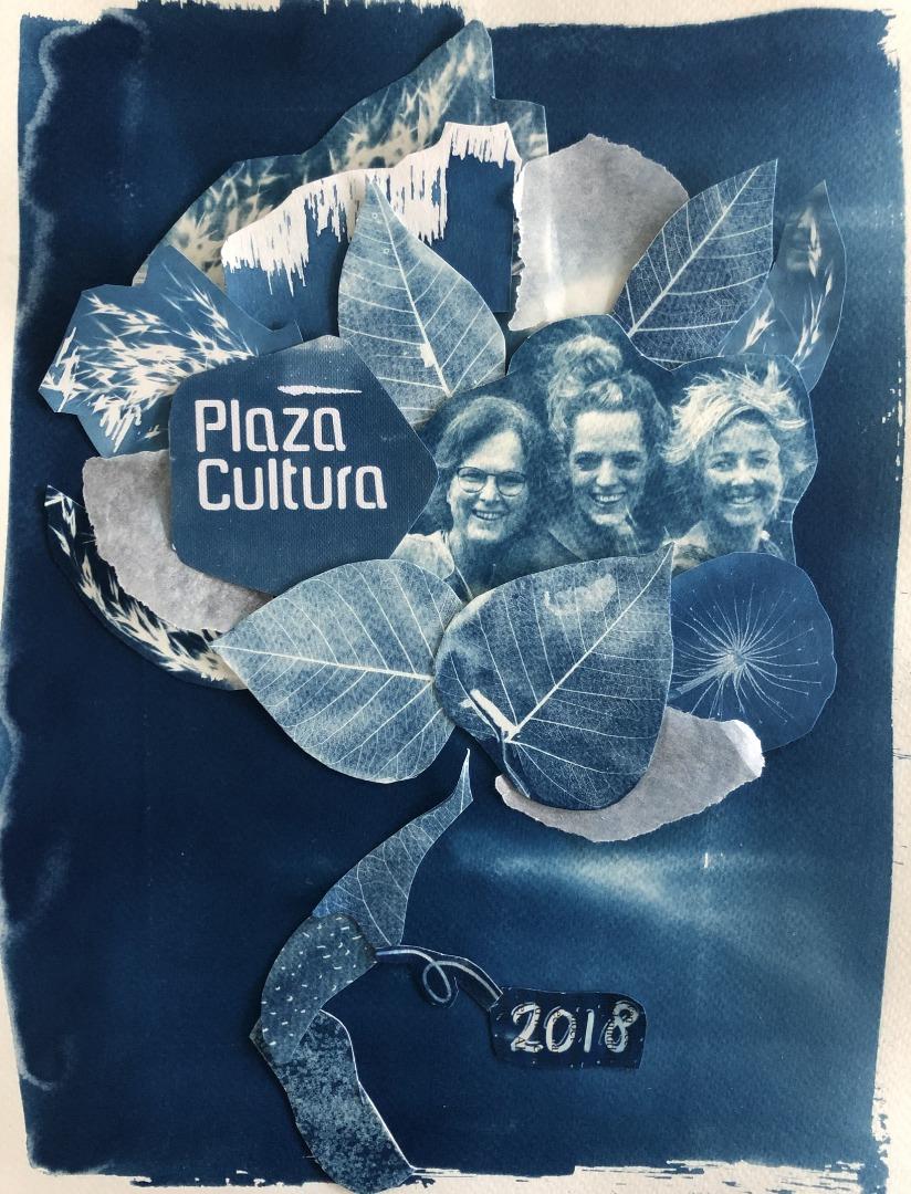 Cover jaarverslag Plaza Cultura 2018