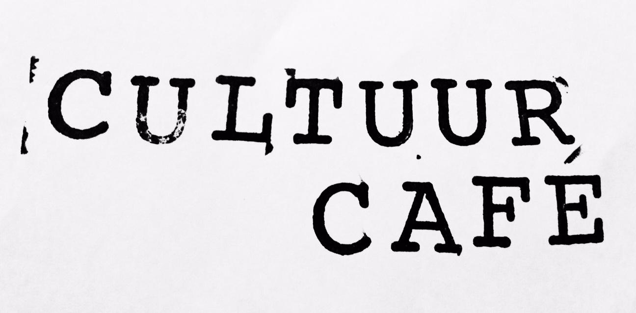 Cultuur cafe september