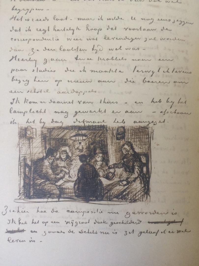 Abels Eiland brieven van Vincent