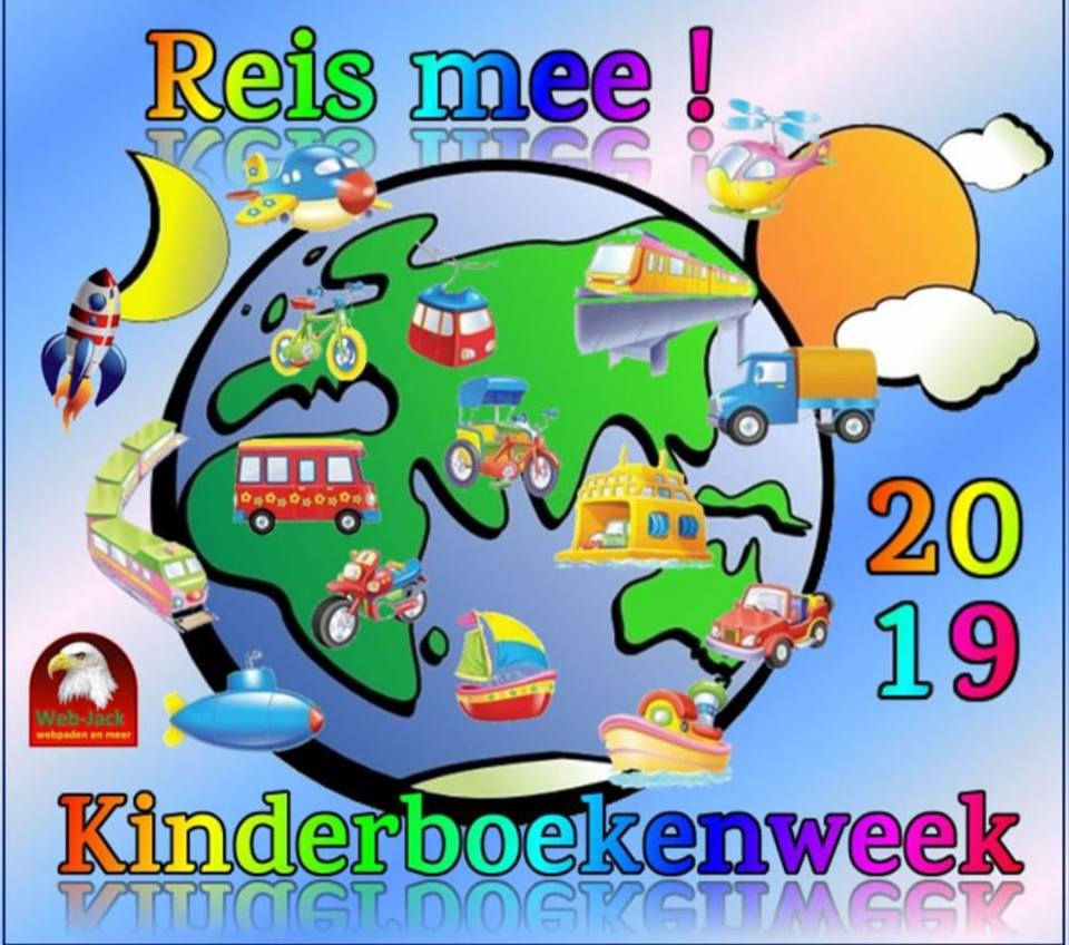 Afbeeldingsresultaat voor kinderboekenweek 2019 reis mee