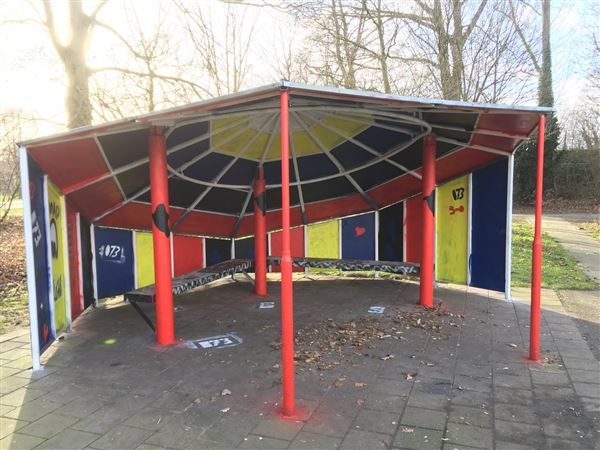 Graffiti jongeren Vught